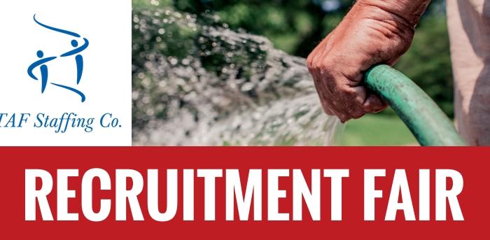 TAF Staffing Recruitment Fair