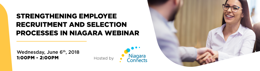 Strengthening Employee Recruitment and Selection Processes in Niagara Webinar