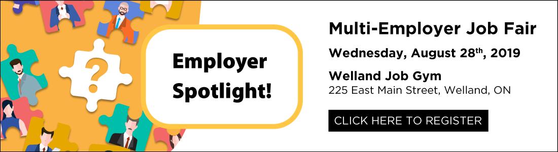 Employer Spotlight Multiple Employer Spotlight Job Fair