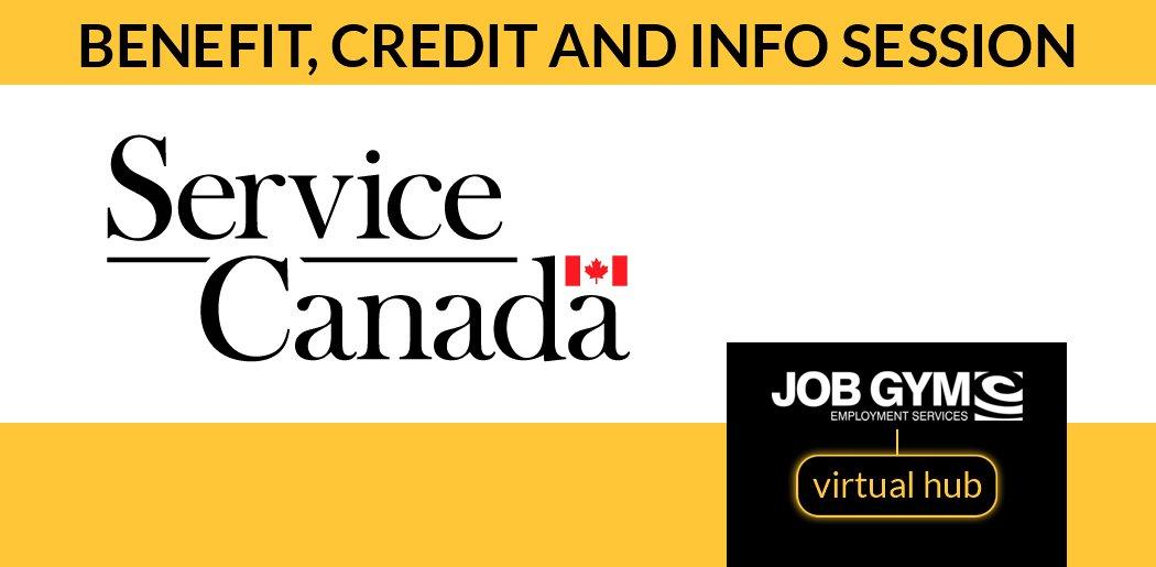Job Gym - Service Canada Session